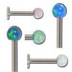 Labret pierre opale