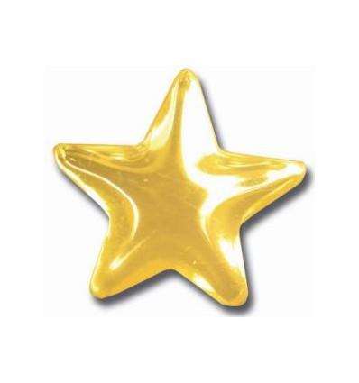 Bijou dentaire or motif étoile
